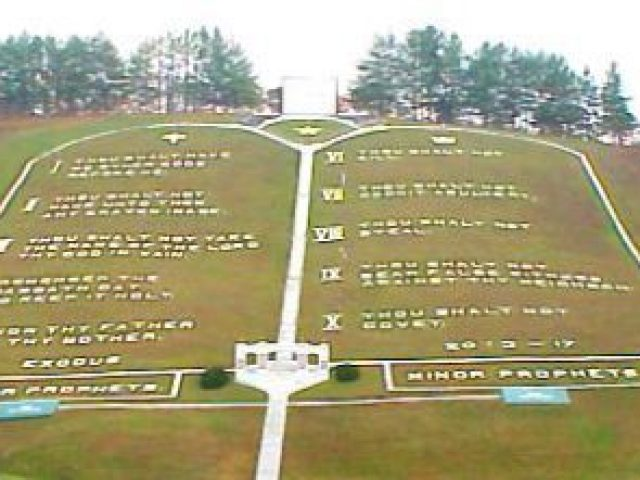 World's Largest Ten Commandments