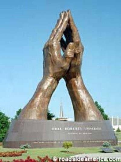 World's Largest Praying Hands