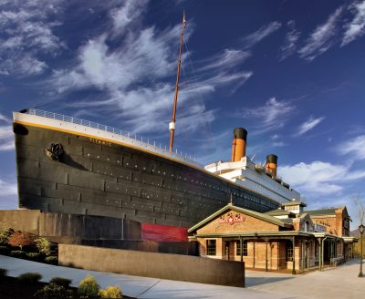 Titanic Museum Attraction in Pigeon Forge, TN.