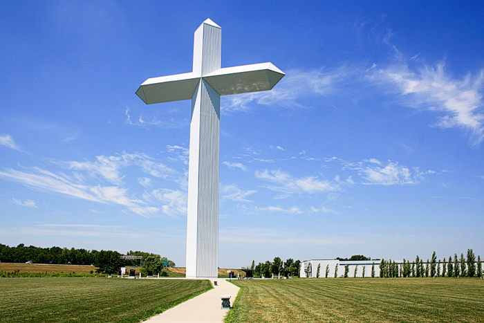 West Virginia Colleges >> Largest Cross in the World - Christian Treasure Seekers